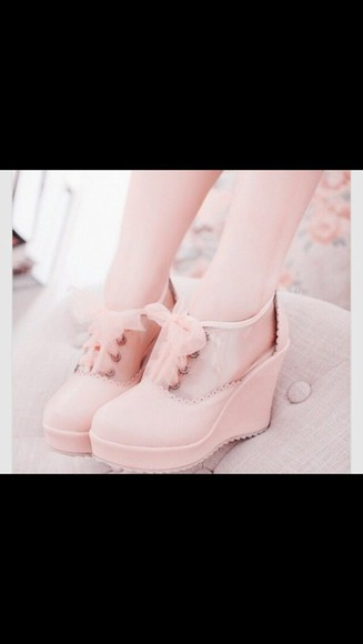 shoes wedges pink pink, wedges,all star,converse wedges,cute,pretty,girls,fashion,wheretogetit
