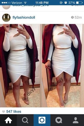 skirt asymmetrical white skirt white bottoms asymmetrical skirt