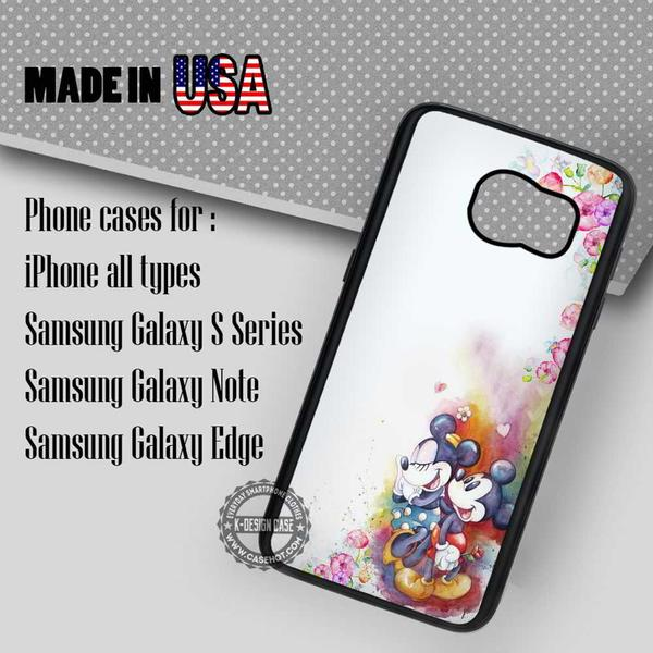 Samsung S7 Case - Mouse Disney Watercolor- iPhone Case #SamsungS7Case #mickeymouse #yn