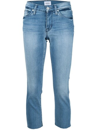 jeans cropped jeans cropped blue