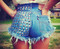 Dangers studded vintage levis shorts