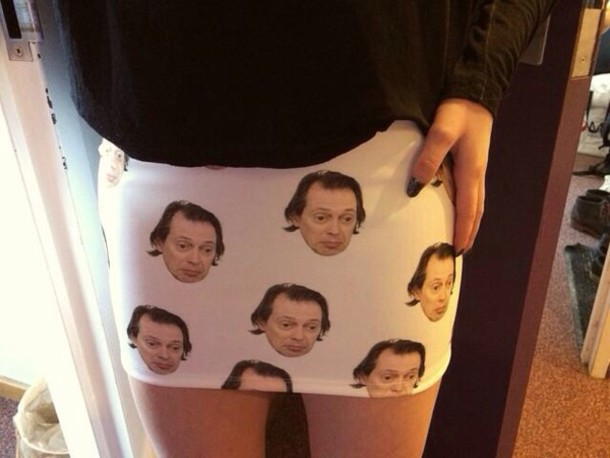 skirt steve buscemi white