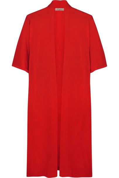 cardigan cardigan wool red sweater