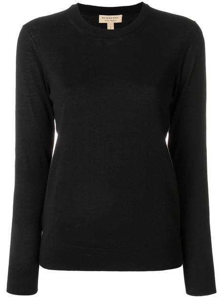 Burberry jumper women black sweater