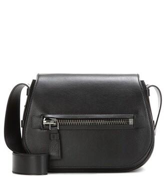 soft bag shoulder bag leather black