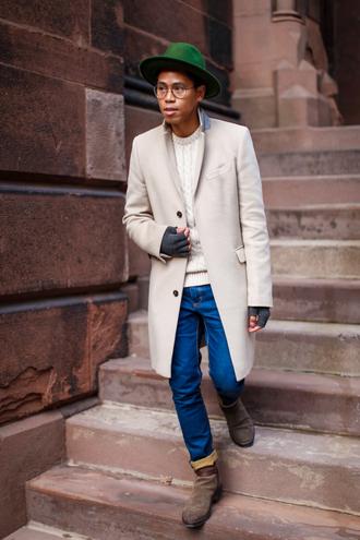 closet freaks blogger mens hat menswear mens coat