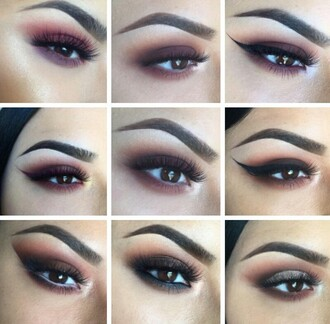 make-up pretty beautiful gorgeous makeup palette party make up eye makeup eyeshadow palette pretty eyes eyebrows eyeliner baddies tumblr style dope cyber fashionista classy sexy hot fierce