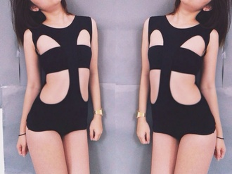 unif black underwear body sexy summer outfits cute classy fashion fashion toast lookbook new look thin bodycon dress cut-out dress night outfit party outfits party dress tumblr clothes bodysuit black bodysuit swimwear tumblr bikini instagram instagram fashion ootd blogger teen fashion popular popular clothes unique dolls kill nasty gal