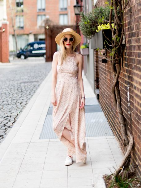 yael steren blogger dress shoes sunglasses hat make-up