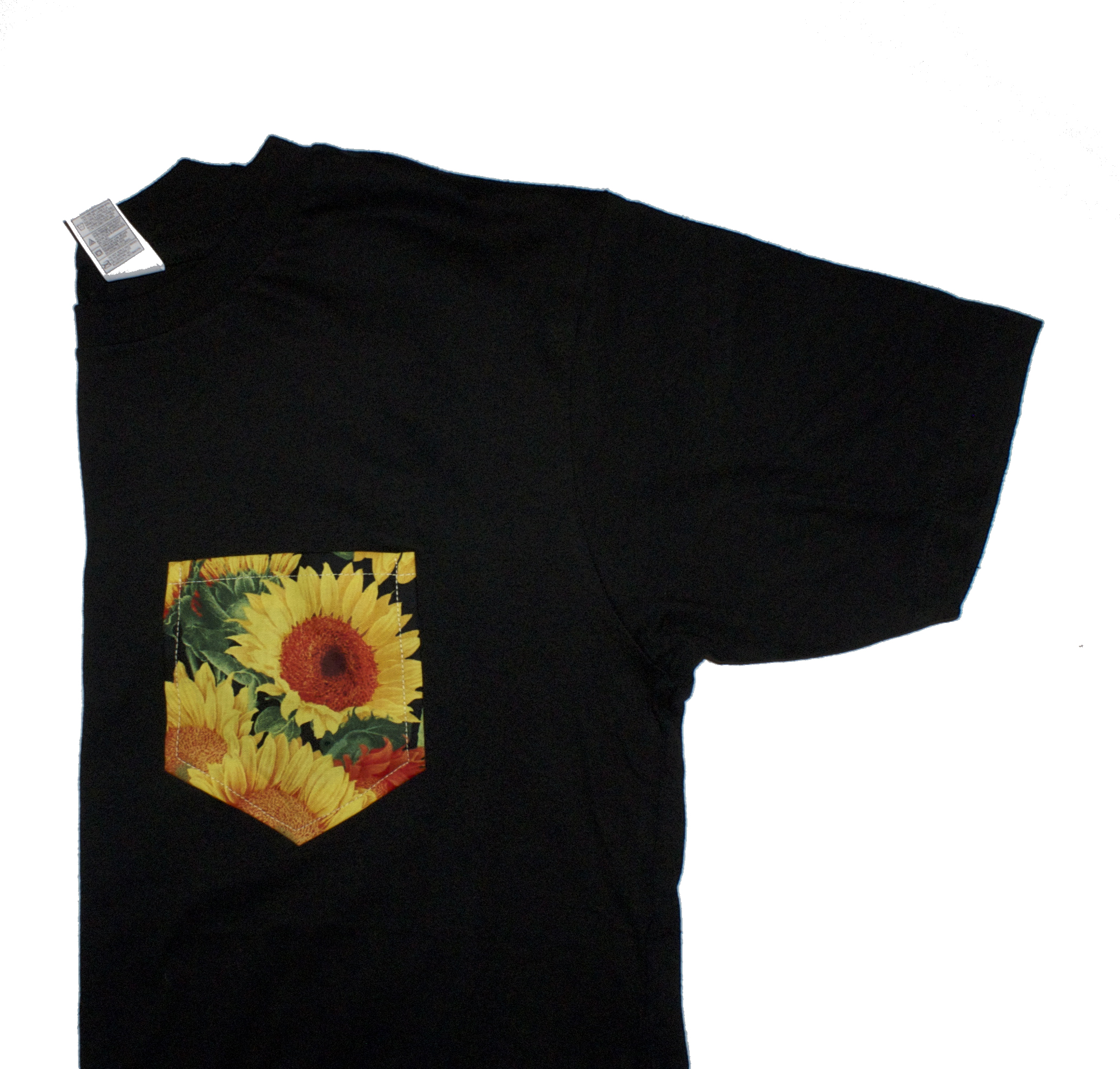 Sunflower pocket tee mint clothing company for Get company shirts made