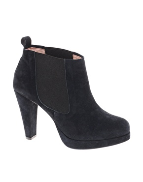 Ganni exclusive fiona heeled chelsea boots at asos