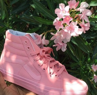 shoes vans pink all pink everything