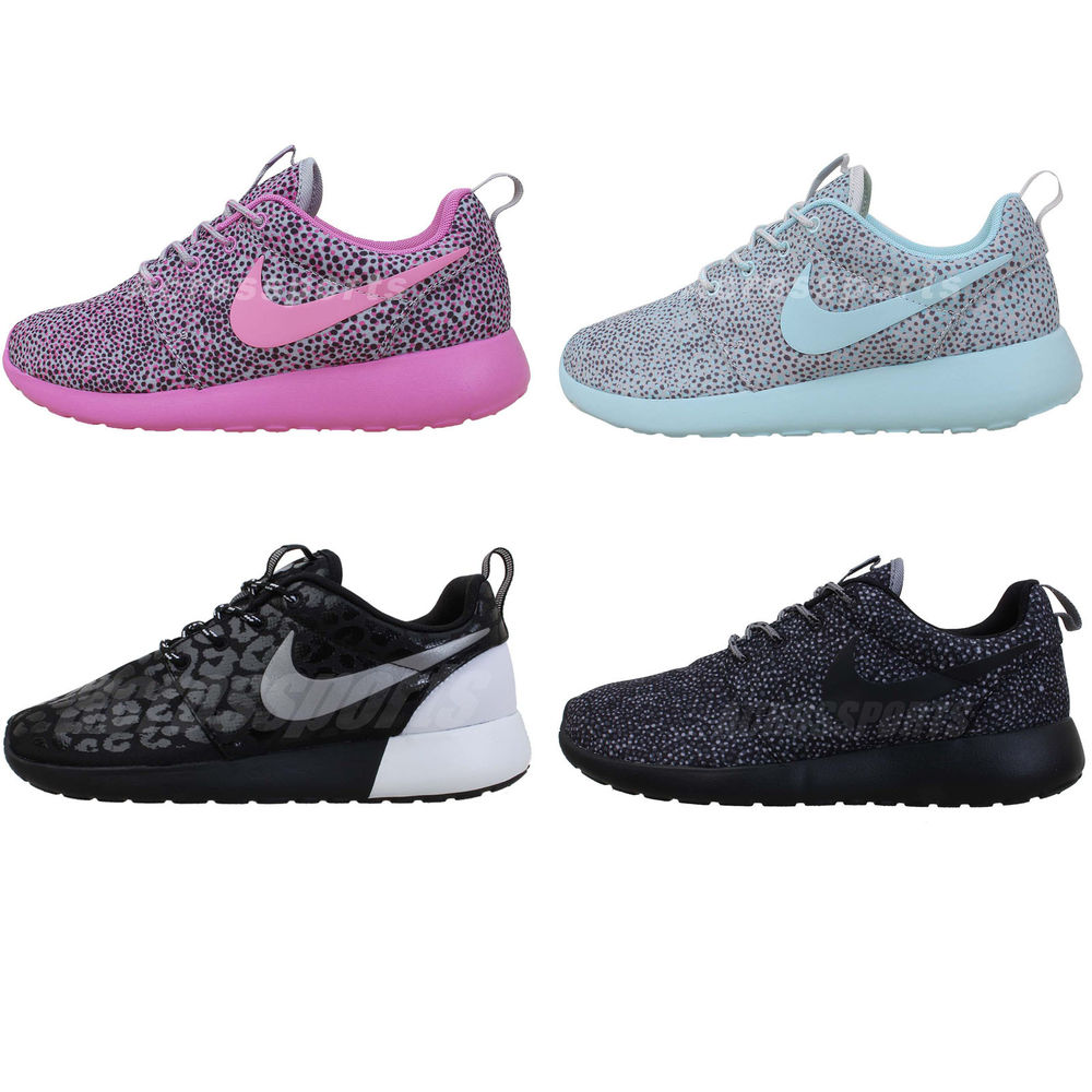 Nike Wmns Roshe Run Rosherun Splatter Pack Womens NSW Running Shoes 3 Select 1 | eBay