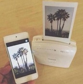 jewels,ipod5,printer,poloroid,phone,pictures,jeans,t-shirt,tropical,vintage,phone cover,earphones