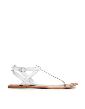 Gracie Toe Post Flat Sandals at ASOS