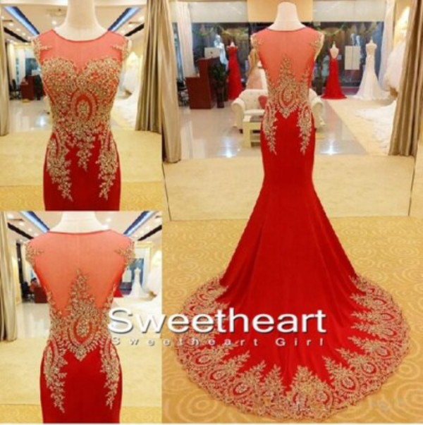 Aliexpress.com : Buy Real Picture Beaded Mermaid Long Evening ...
