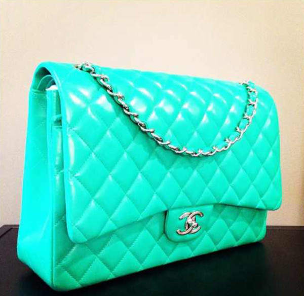 bag chanel mint designer
