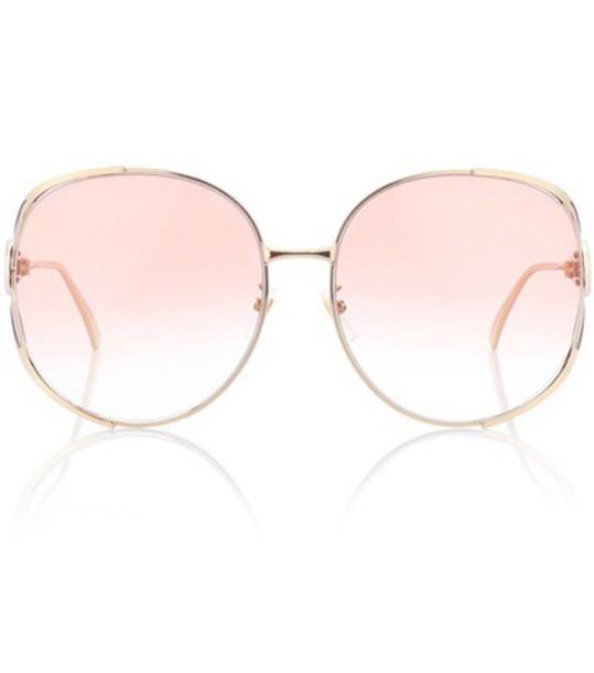 gucci sunglasses gold