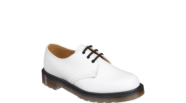 najlepsza cena jakość sklep internetowy Dr Martens 1461 Pw Shoe WHITE SMOOTH - Doc Martens Boots and ...