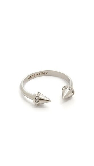 mini ring silver jewels