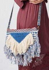 bag,bohemian bag,boho bag,bohemian,boho,FRINGED CROSSBODY BAG,fringed bohemian bag,jacquard bag,bohemian tote bag,bohemian crossbody bag
