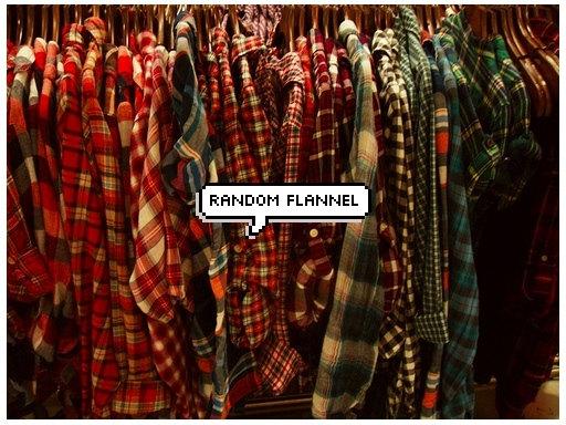 Random flannel
