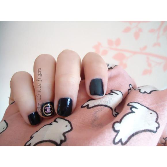prada nail polish decoration diy glitter hot designer logo brand symbol chanel dior nail accessories nails art nail art louis vuitton stickers decals Nails