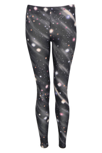 Amy Galaxy Print Legging - Pop Couture