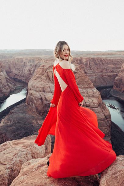 f01d13d14f1 dress tumblr maxi dress long dress red dress open back open back dresses  backless backless dress