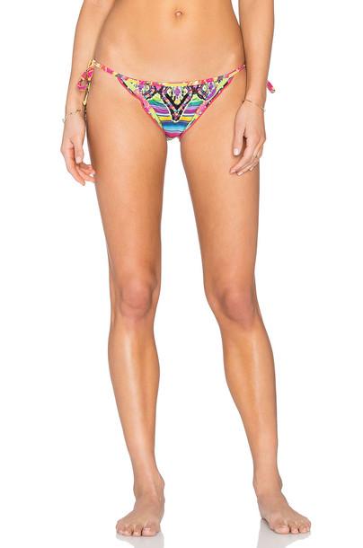 Agua Bendita bikini aztec yellow