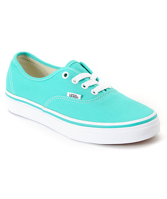 Vans Blue Green