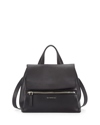Givenchy Antigona Small Box Calf Satchel Bag, Gray