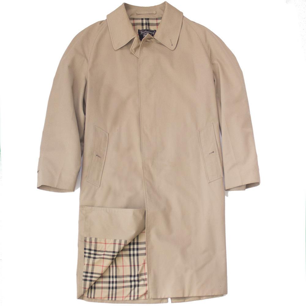 Burberry lightweight cotton car coat