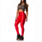 Sexy shiny high waisted stretchy disco dance zip front leggings pants jx | ebay