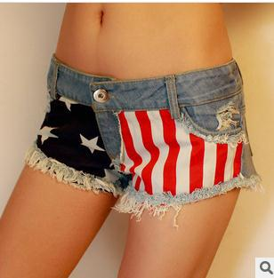 "[new 2014]New Arrival Trendy Heart Printing Denim Shorts Women Love Short Jeans High Waist Women Shorts  calvin"""" jeans hot sale on Aliexpress.com"