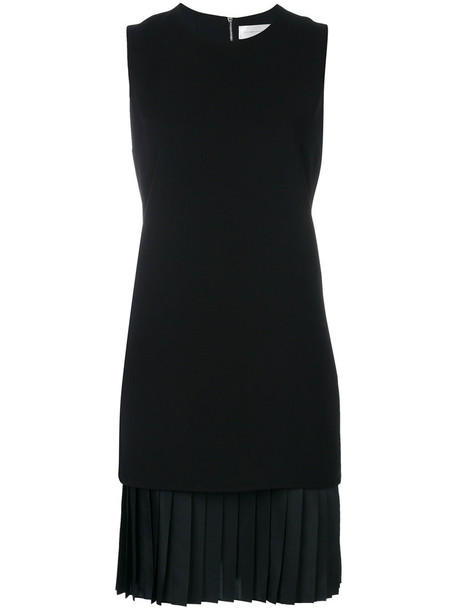 Victoria Victoria Beckham dress shift dress pleated women black