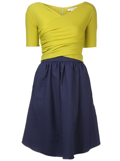 Carven Two-tone Dress - Hampden - Farfetch.com