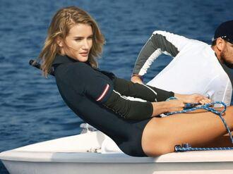 swimwear editorial summer rosie huntington-whiteley