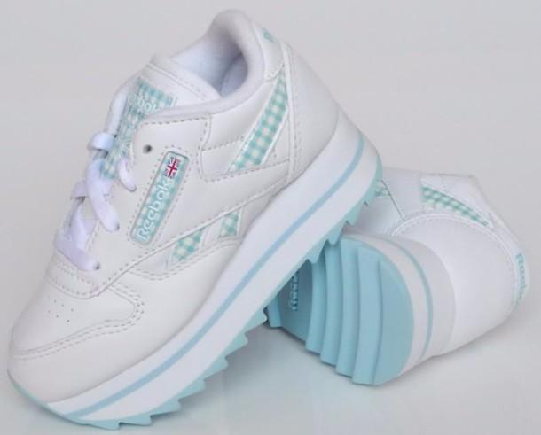 c26101715c8514 shoes Reebok platform sneakers white sneakers kids sneakers