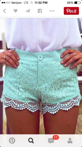 shorts vintage lace shorts style blue shorts light blue jeans cute shorts boho chic bottoms beautiful outfit tumblr outfit tumblr shorts tumblr bogo indie boho boho fashion teenagers pretty stylish trendy hippie hippy shorts hipster indie indie shorts vintage shorts girly grunge soft grunge spring spring outfits spring break classy swag instagram