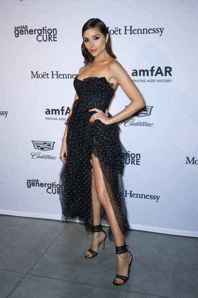 dress gown sandals olivia culpo bustier dress asymmetrical asymmetrical dress