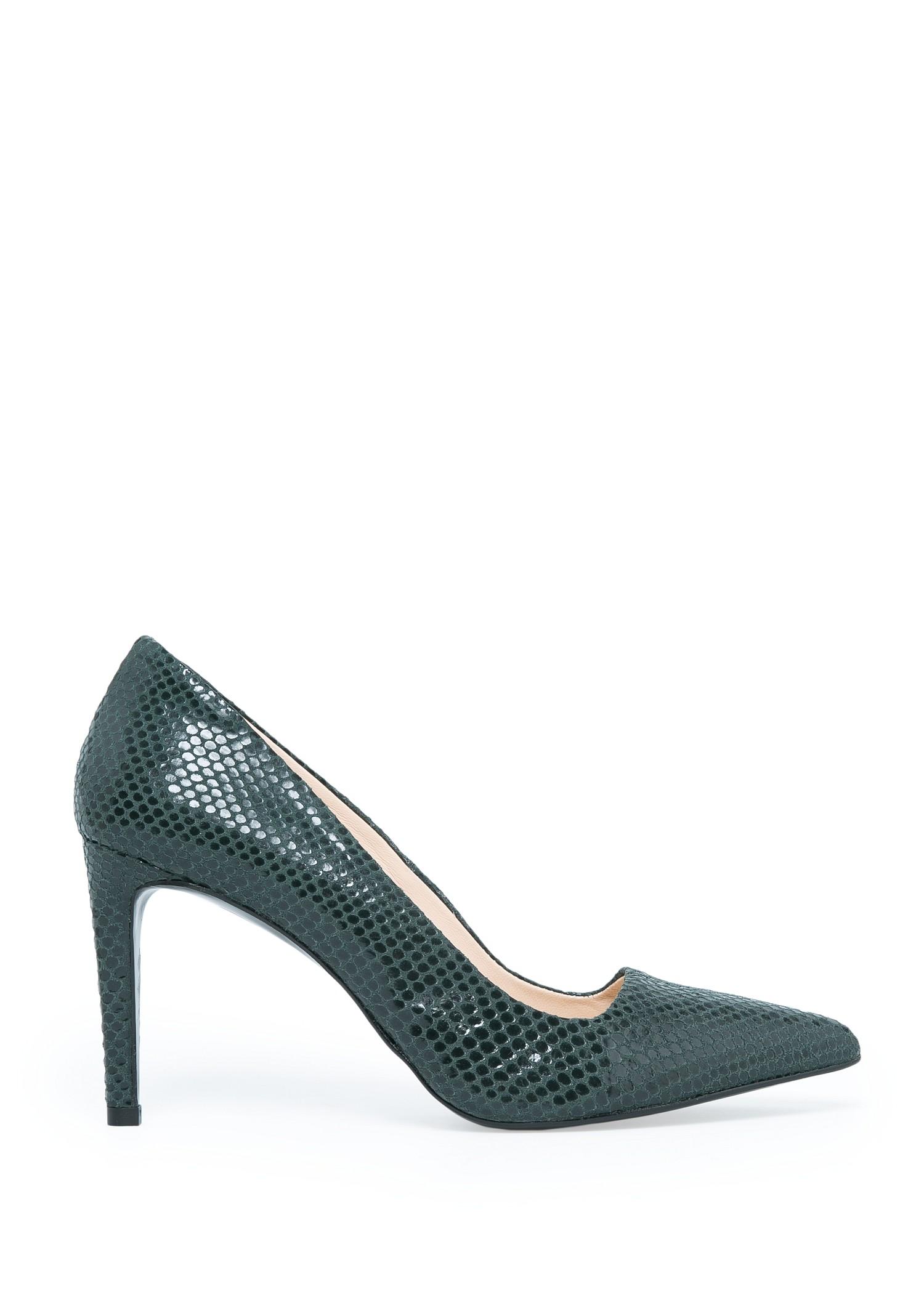 Zapato serpiente piel - Calzado de Mujer | MANGO