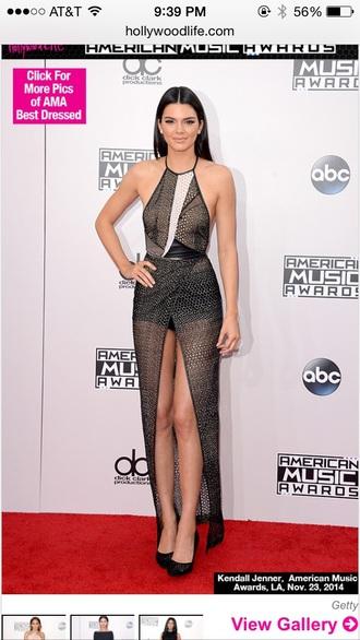 kendall jenner kardashians halter long long dress halter dress style lace dress little black dress black dress sheer dress