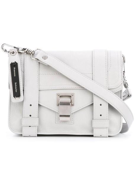 Proenza Schouler mini women bag crossbody bag grey