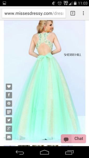 dress green dress shiny dress prom dress