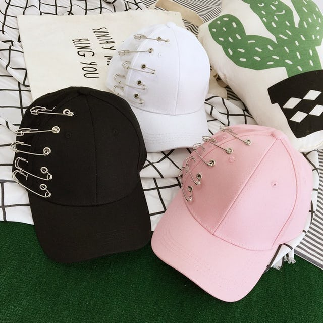 Korean Cute Hole Baseball Cap • kawaiimoristore