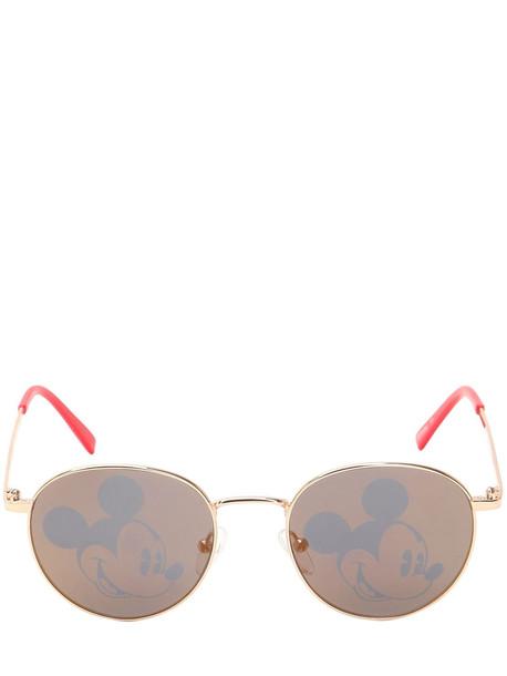 metal disney sunglasses gold