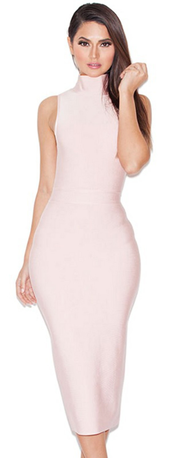 Dress: dream it wear it, clothes, pink, pink dress, pink dress ...