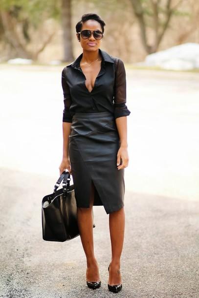 the daileigh t-shirt skirt shoes bag sunglasses