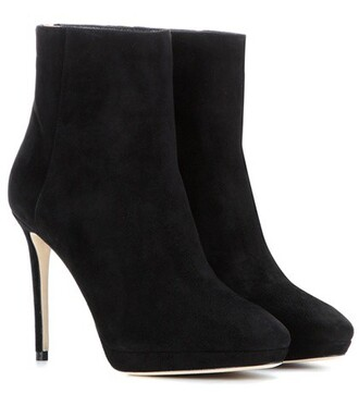 suede ankle boots 100 boots ankle boots suede black shoes